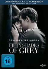50 FIFTY SFUMATURE DI GRIGIO - GEHEIMES RICHIEDONO Dakota Johnson DVD nuovo