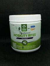OPENED Zesty Paws Mobility Bites for Dogs with Hemp - Hip & Joint sup. Exp. 7/20