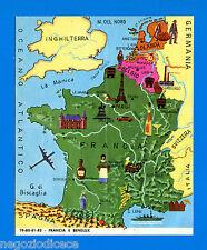 EUROPA - Imperia 1965 - Figurina-Sticker n. 79-80-81-82 - FRANCIA E BENELUX -Rec
