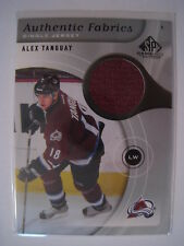 Alex Tanguay 2005-06 Upper Deck SP Game Used AUTHENTIC FABRICS JERSEY