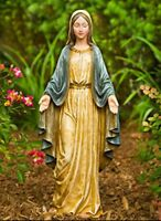 Fun Express Virgin Mary Blessed Mother Garden Lawn Statue New
