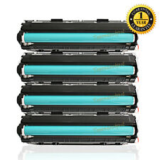 4PK 128 Toner Cartridge for Canon 128 ImageClass D530 MF4770n MF4880dw MF4890dw