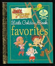 Little Golden Book Favorites - Jack and the Neverland Pirates (2015) Very Good