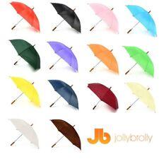 Plain Jollybrolly Umbrellas (white Black Red Green Orange Purple Blue ) White