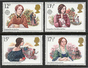 GB 1980 Commemorative Stamps~Authoresses~Unmounted Mint Set~UK Seller