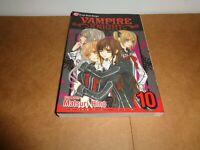 Vampire Knight Vol. 10 by Matsuri Hino Viz Manga Book in English