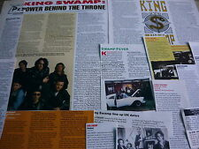 KING SWAMP - MAGAZINE CUTTINGS COLLECTION (REF R1)