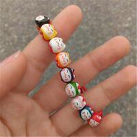 Animal Jewelry Rope Lucky Handmade Ceramic Cat Bracelet Beads