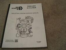 Ford DSG-423 Industrial Engine Service Manual - Engine Distributors Inc 2.3L EDI