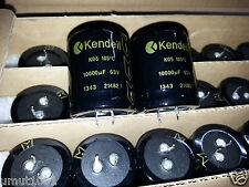 2PCS NEW KENDEIL 10000UF 63V 35x40mm CAPS AUDIO QUAD 405 UPGRADE NAIM AMP!