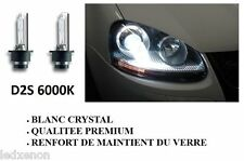 2 AMPOULE XENON D2S 6000K - HAUTE QUALITEE - RENAULT CLIO 2