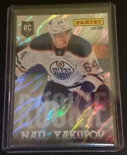 2013 Panini National VIP RC #/99 NAIL YAKUPOV #33 Oilers Lava Flow