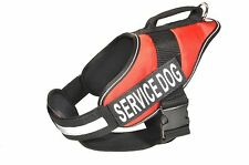 Dogline Alpha Service Dog Harness Vest Removable Custom Patches Chest Plate