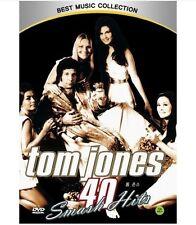 Tom Jones DVD - 40 Smash Hits (New & Sealed)
