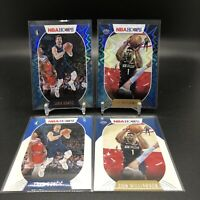 2020-21 PANINI NBA HOOPS LUKA DONCIC #150 & ZION #163 TEAL EXPLOSION PARALLEL SP