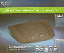 Linksys X2000 300 Mbps 3-Port 100 Mbps Verkabelt Router (X2000-E1)