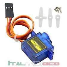 Micro Servo motore 9G servocomando robotica arduino mini modellismo Raspberry Pi