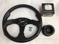 MOUNTNEY LAND ROVER DEFENDER MOULDED STEERING WHEEL & 36 SPLINE BOSS