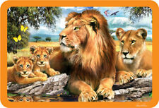 EuroGraphics Howard Robinson Lion Family Selfie 3D Placemat