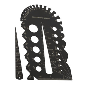Sealey IMPERIAL Drill Bit & Bolt Screw Tap Thread Pitch Size Gauge Guide MGI1
