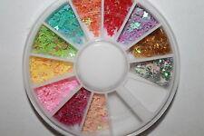 NAIL art strass Glitters Acrilico Consigli Decorazione Manicure Ruota