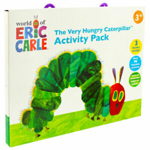 The Very Hungry Caterpillar Activity Pack Carry Box Set Colouring Books Stickers