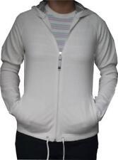Maglie e camicie da donna a manica lunga con cappuccio in misto cotone