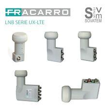 LNB FRACARRO SERIE UX-LTE UNIVERSALE 2-4-8 USCITE - E 4 USCITE POLARIZZATE V/H