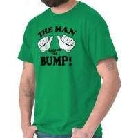 This Guy Man Behind The Bump Baby Daddy Fathers Day Gift  T-Shirt