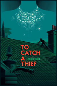 To Catch A Thief Alfred Hitchcock Laurent Durieux Variant Foil Ed Only 20 S/N