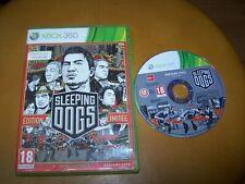 SLEEPING DOGS -  XBOX 360 BOITE CD