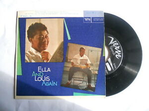 45 Giri - Ella Fitzgerald and Louis Armstrong Again Part 4 these foolish things