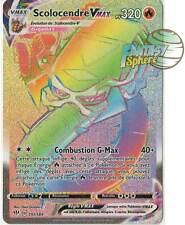 Pokemon 191/189 Scolocendre Vmax Secret Rare EB03 Epee Bouclier 3  VF Français
