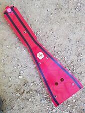 Kased Plates '04-'14 HONDA TRX450R 3MM RED Lifetime Warranty Frame Skid Plate
