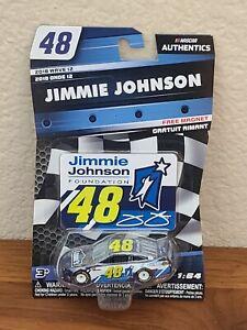 2018 Wave 12 Jimmie Johnson Lowe's Foundation 1/64 NASCAR Authentics Diecast