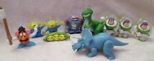 Lot of 10 Disney Pixar Toy Story mini Action Figures Trixie, Buzz & more!