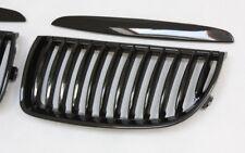 Parrilla Refrigerador de la Rejilla Set para BMW E90 E91 3er 05-08 Negro Brillo