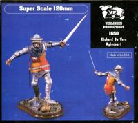 Verlinden 1:16 120mm Richard de Vere Agincourt Resin Figure Kit #1650