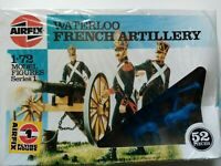 (6,REF) Airfix 1/72 OO scale Waterloo French Artillery in shrink wrap from 90's