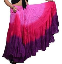 3 Colour American Tribal Gypsy 25 yards yard belly dancing cotton skirt L36""