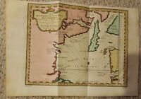 Hudson Bay Canada Nord–Quest de L'Amerique Bellin map 1753 Hudson Bay Map