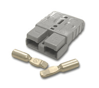 Authentic Anderson Power SB50 Connector Kit Gray 6 AWG 1 Housing 2 Contacts