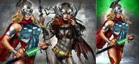 BATMAN SUPERMAN 1 GREG HORN SUPERGIRL BATGIRL WHO LAUGHS VARIANT A & B 2-PACK