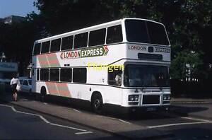 ORIGINAL BUS COLOUR SLIDE Eastern National Leyland Olympian B696BPU