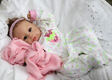 BERRY SWEET! - ADORABLE 16 Inch Collectors Life Like Baby Girl Doll + 2 Outfits