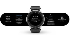 SAMSUNG Galaxy Smart Watch (46mm) Silver (4G LTE) SM-R805F