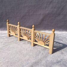 1/12 Dollhouse Miniature Yard Stockade Barrier Handrail Fence DIY Garden Decor