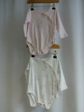 2 Mothercare long sleeved Bodysuits Age 3 - 6 Months