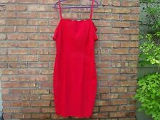 NWT Tatyana BETTIE PAGE Stretch Dress RED PENCIL WOMENS  4XL