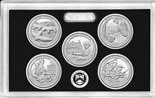 2017 S Silver America the Beautiful 5 Coins Gem Proof Set NO BOX/COA IN STOCK